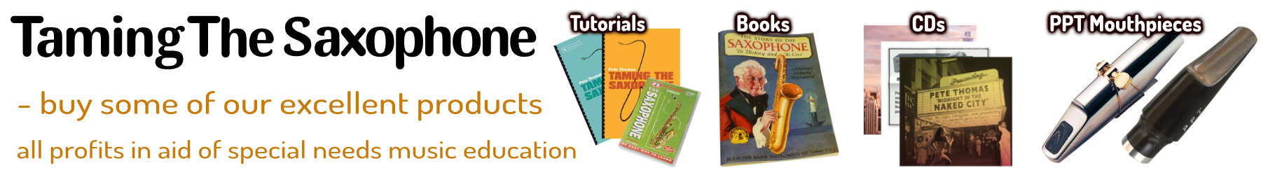 PPT Mouthpieces, tutorials, CDs & playalongs