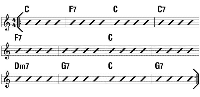 Slinky Chords alto