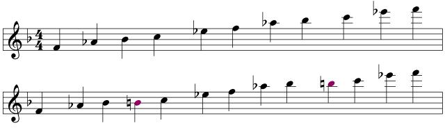 Slinky pentatonic tenor