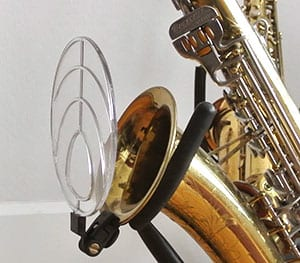 The Deflector - sound monitoring for saxophone