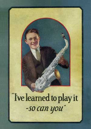 From The Story of the Saxophone