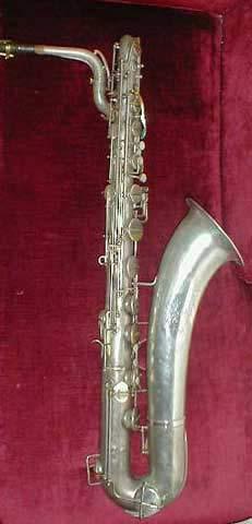 Saxophone maintenance: martin baritone