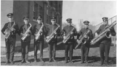 The Sousa Band Saxophone Section, 1920s