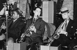 Herschel Evans - Eddie Miller - Lester Young tenor saxophone
