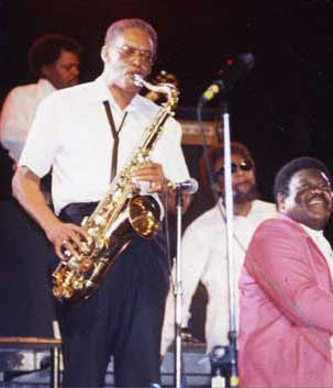 Lee Allen With Fats Domino