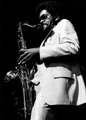 Rhythm and Blues Saxophone Player Walter Kimble