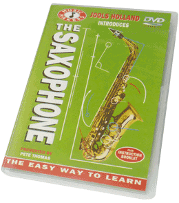 Pete Thomas Saxophone Instruction DVD