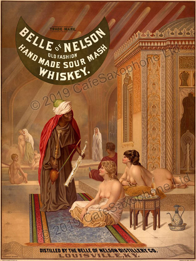 Belle of Nelson ad