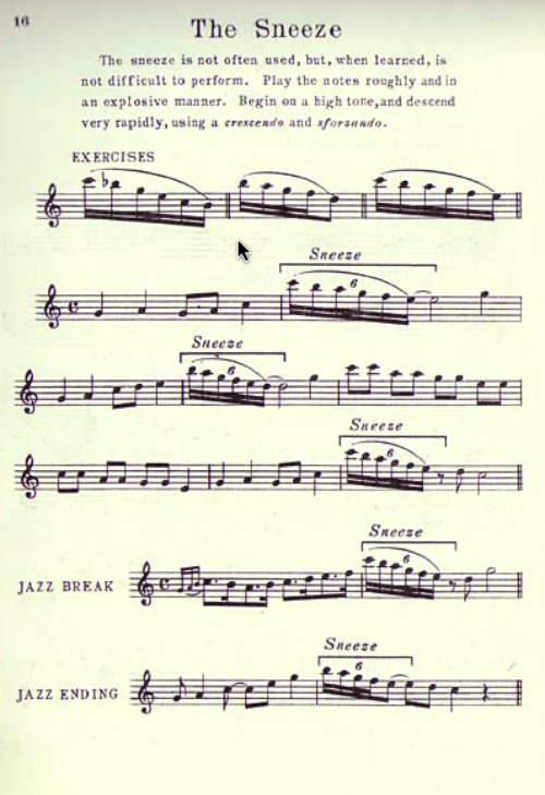 Saxophone Effects