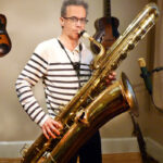 Pete Thomas bass saxophone