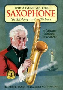 Story of the Saxophone Front Page